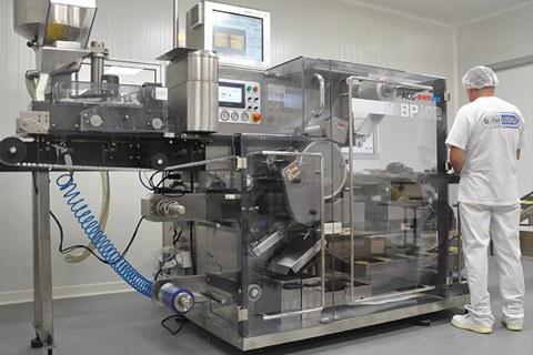 L'équipement de B- Pharma laboratoires à Chambéry