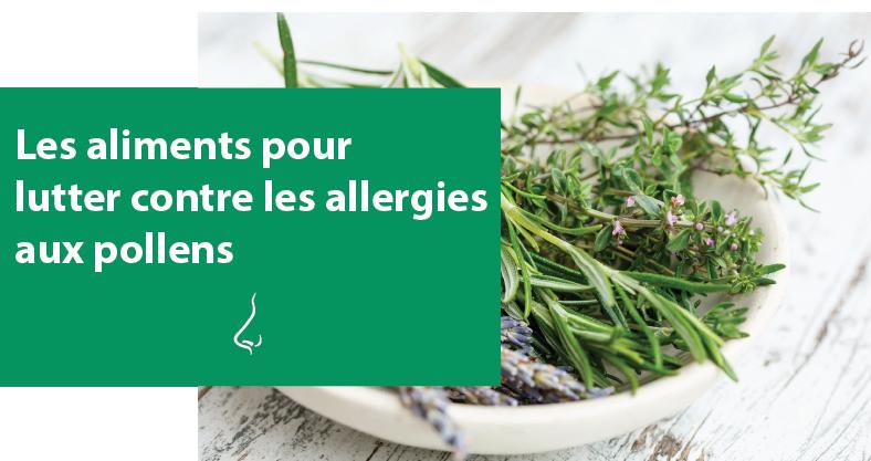 Les aliments pour lutter contre les allergies aux pollens